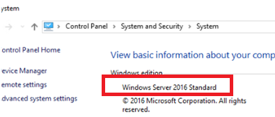 Downgrade windows server 2016 from datacenter to standard