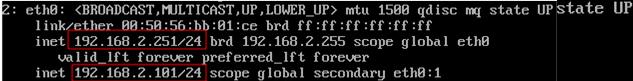 virtual ip keepalived host 1