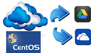 Mount and Use Google Drive and OneDrive on Linux CentOS