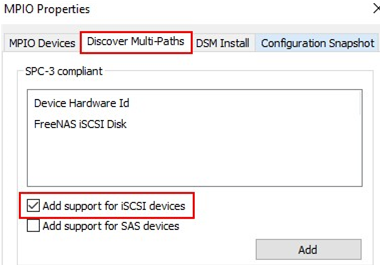 discover multi-paths: Add support for SAS and iSCSI devices