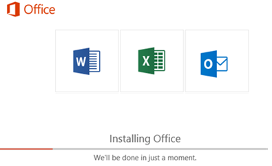 Selective installation of Office 365 apps