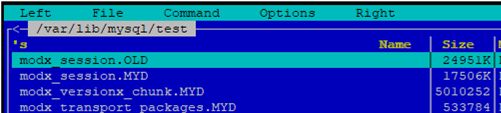 compressing tables with myisampack tool