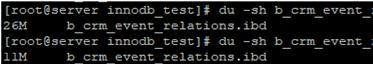 reducing size of a MySQL/MariaDB database