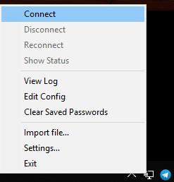 openvpn windows client connect
