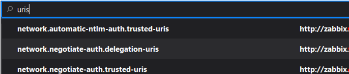 trusted-uris in firefox