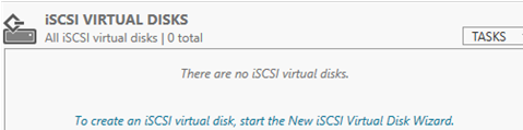 create new iSCSI virtual Disk Wizard