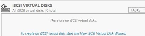 create new iSCSI virtual Disk Wizard