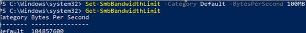 Set-SmbBandwidthLimit-powershell