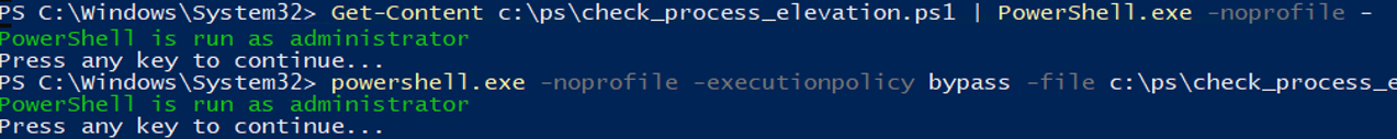 2 Ways to Bypass the PowerShell Execution Policy