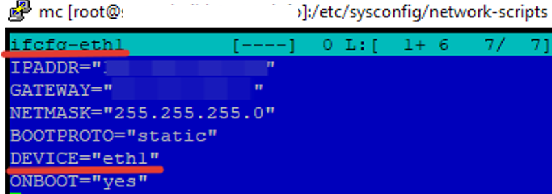 RedHat/CentOS multiple NICs