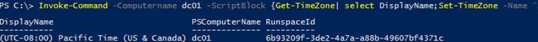 invoke-commapn - multiple lines in script block