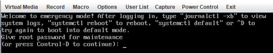 """Linux boot to Welcome to emergency mode! After logging in, type """"journalctl -xb"""" to view system logs, """"systemctl reboot"""" to reboot"""