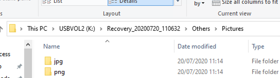 Recover lost files on Windows 10 using Windows File Recovery