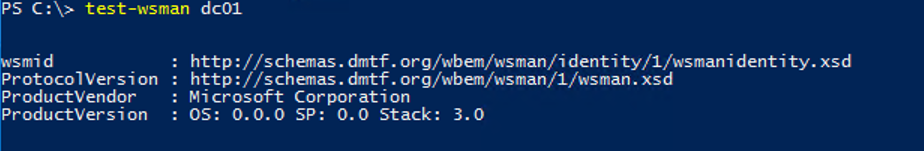 Test-WsMan - testing wirm connectivity using powershell