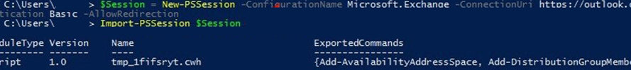 Connecting to Microsoft 365 with remote PowerShell