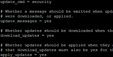 Enabling Automatic Package Updates on linux