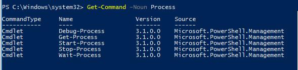 Manage System Processes Using Windows PowerShell
