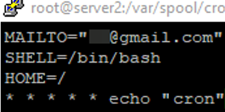Enable Cron Notifications to Email on Linux