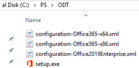 Microsoft Office Deployment Tool - XML templates