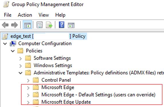new gpo setting in gpmc.msc editor