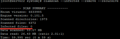 clamscan - How to scan for viruses with ClamAV?